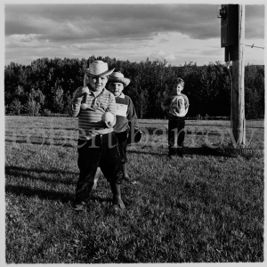 Benny, Raymond and Roland - Swan River MB 1985